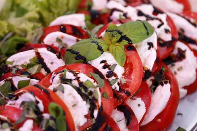 tomaten mit balsamico
